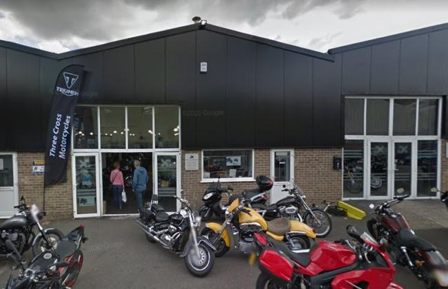 Three Cross Motorcycles at Woolsbridge Industrial Estate