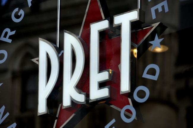 These are the Pret A Manger stores that will be open from June 1 (Archive photo)
