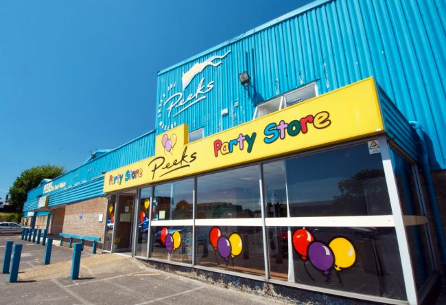 Peeks Party Store in Christchurch has closed
