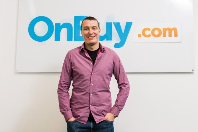 Cas Paton, founder and chief executive of OnBuy.com