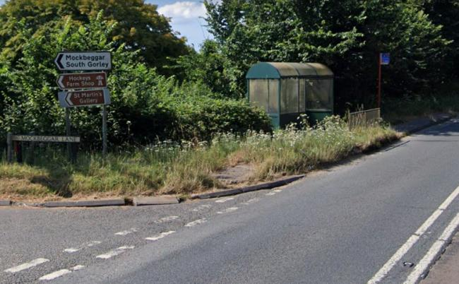 A338 Salisbury Road at its junction with Mockbeggar Lane. Picture: Google Maps/Street View