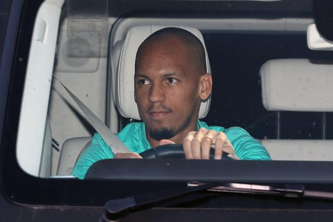 Fabinho and his Liverpool team-mates returned to small group training last week
