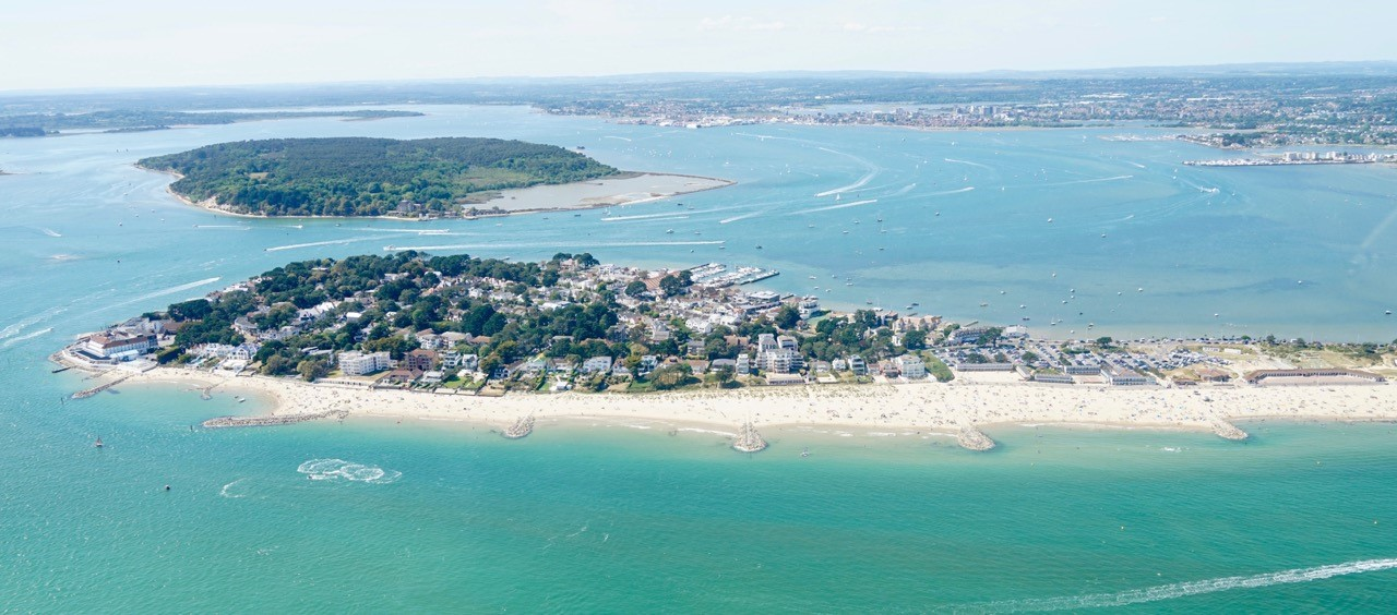 Two people rescued from drowning in the sea by passers-by at Sandbanks