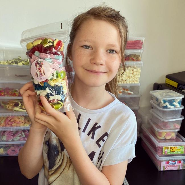 Sadie Bull from Christchurch has started her own sweet business during lockdown