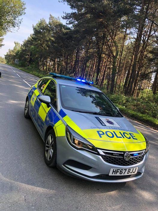 Purbeck Police on patrol. Picture: Purbeck Police