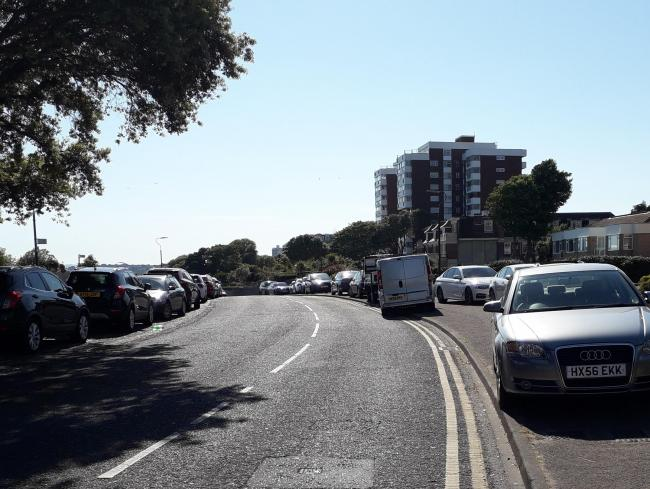 Illegal parking in Bournemouth during lockdown