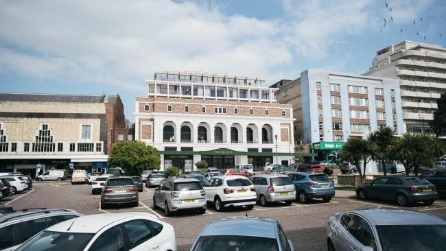 A CGI of the proposed conversion of the former Odeon cinema building in Westover Road, Bournemouth