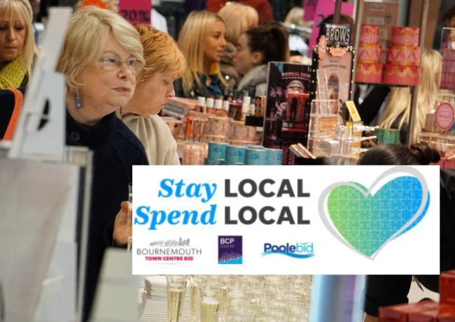 Stay Local, Spend Local campaign launches across BCP area today