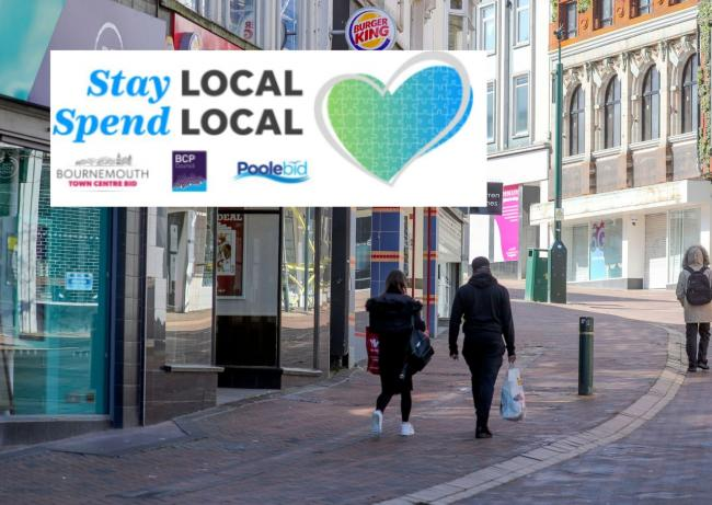 The Stay Local, Spend Local campaign continues
