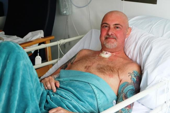 Ian Cobb had previously had a heart transplant and was undergoing chemotherapy before contracting coronavirus and subsequently staging a remarkable recovery