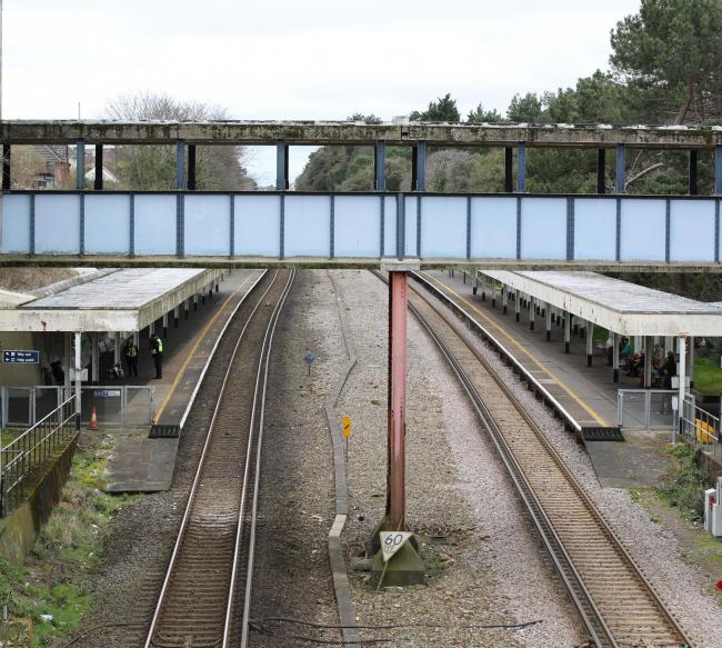 Pokesdown station still has no lifts despite it being required in South Western Railway's franchise agreement