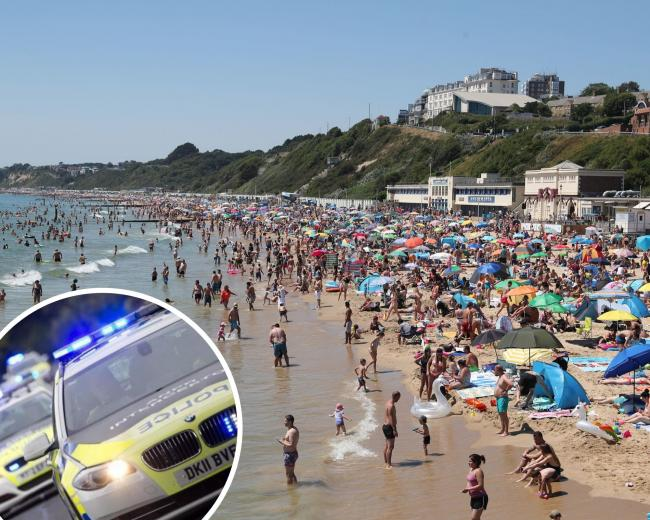 Three men stabbed after fight breaks out at Bournemouth beach