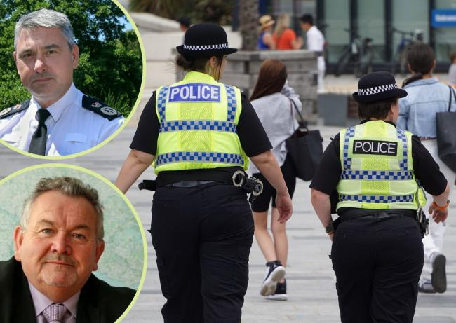 Chief Constable James Vaughan and Dorset Police and Crime Commissioner Martyn Underhill have emphasised that offciers have urged for people to act responsibly this weekend