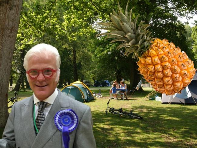Sir Desmond Swayne has spoken about Camping in the Forest's decision not to open campsites in 2020
