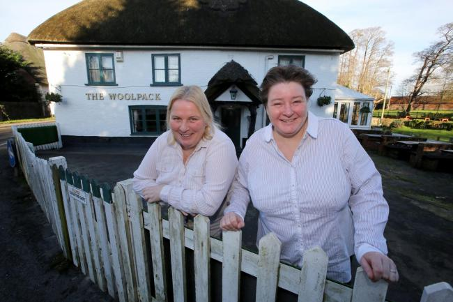 Voted by You! Winers and diners flock to The Woolpack in Sopley - your favourite pub!