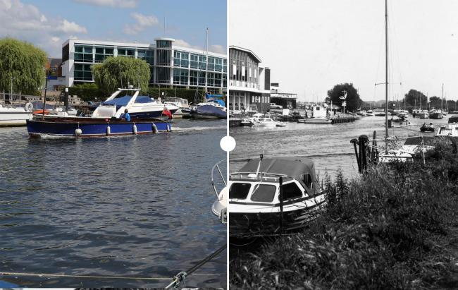 Then and now: These sliders show the changes in Christchurch over the years