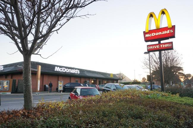 McDonald's in Somerford Road, Christchurch