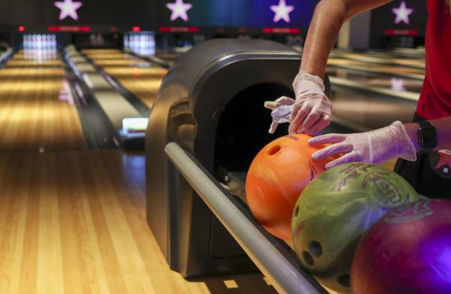 Hollywood Bowl reveals 'fangtastic' Monster ten-pin bowling game for Halloween. Picture: PA Wire