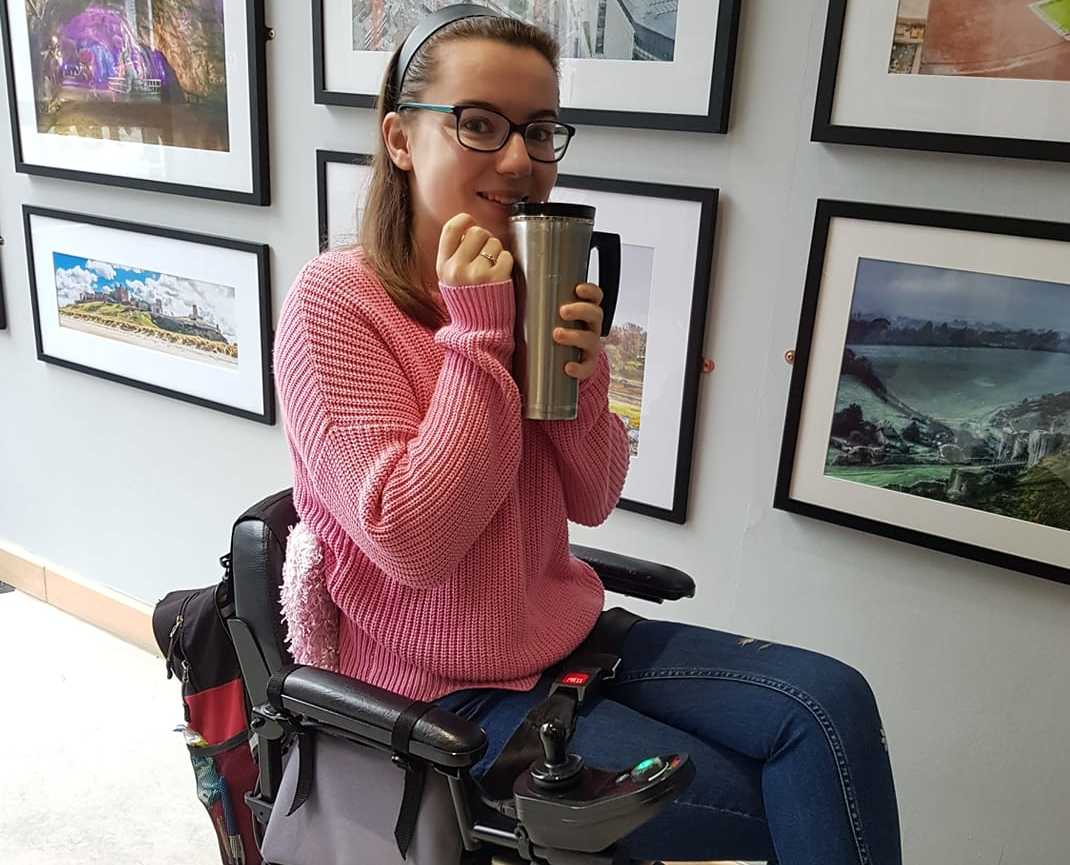 'I will not let my disability stop me': Powerchair plea to reach forensic investigator dream