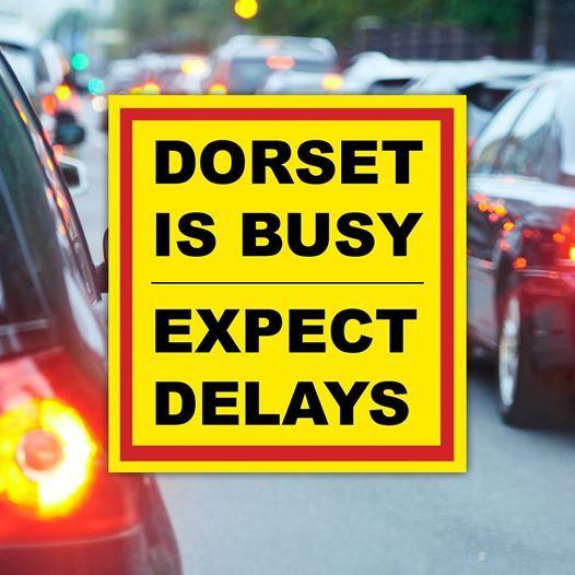 Warning from police as thousands head to the beach. Picture: Dorset Traffic Cops