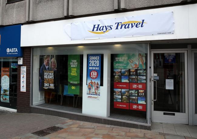Hayes Travel is to make up to 878 jobs redundant