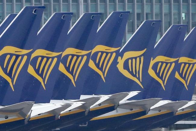 Italy's civil aviation regulator ENAC is threatening to ban Ryanair from the country's airports over alleged non-compliance with rules introduced to tackle the coronavirus pandemic (Niall Carson/PA)