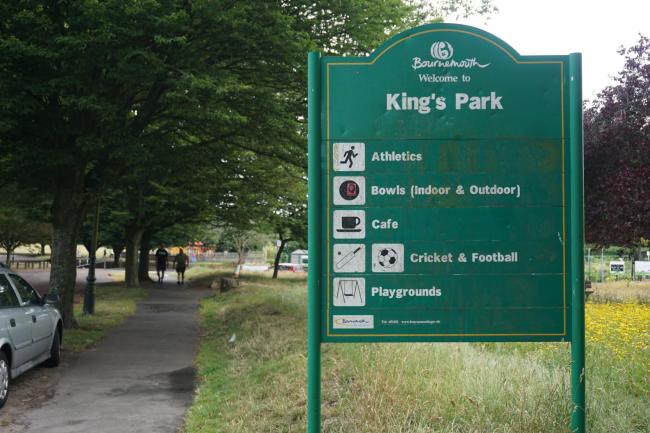 Kings Park in Bournemouth
