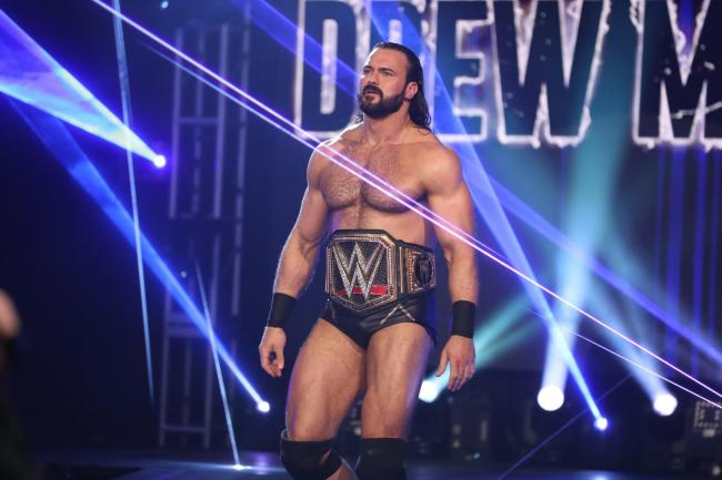 WWE champion Drew McIntyre was born in Ayr.