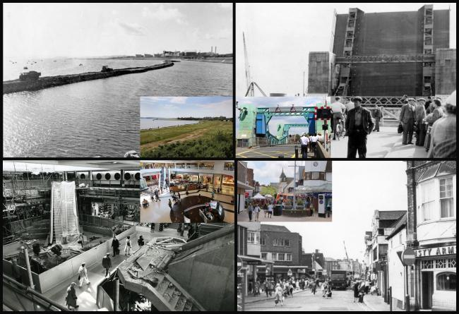 Then and Now: More sliders showing the changes in Poole over the years