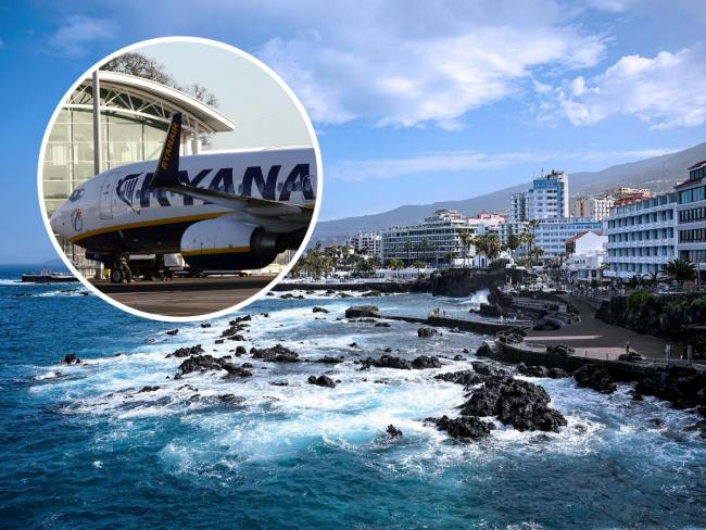 Ryanair flights from Bournemouth to Tenerife are increasing this winter