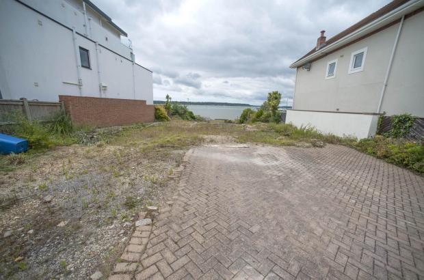 Bournemouth Echo: The plot looks out on Poole Harbour and is near Sandbanks. Picture: Tom Wren/BNPS