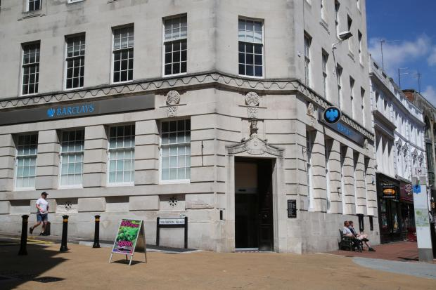 Bournemouth Echo: Barclays bank in Old Christchurch Road, Bournemouth