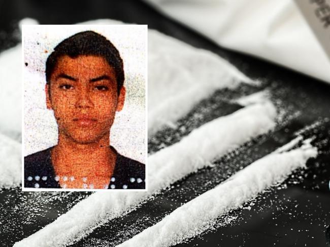 Jhonatan Martins Kirchhoff, inset, has been jailed for smuggling cocaine