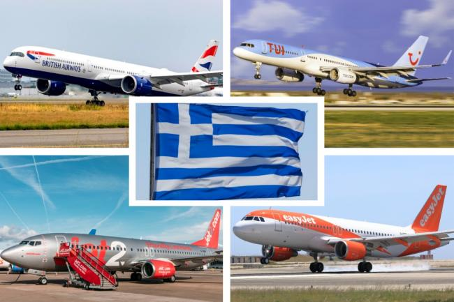 Jet2, TUI, easyJet and British Airways issue update on holidays to Greece. Picture: Newsquest