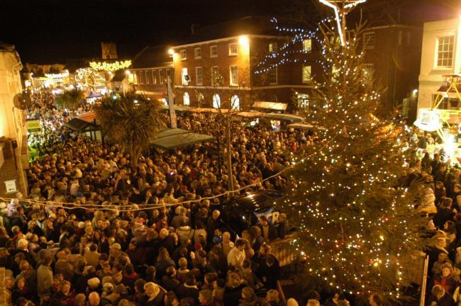 Christchurch Christmas Lights Switch-On..
