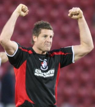 LEGEND: Former AFC Bournemouth striker Steve Fletcher