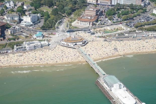Bournemouth beach. Picture: Stephen Bath
