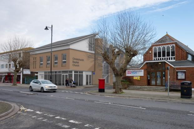 Plans for new Christchurch Baptist Church building in Bargates
