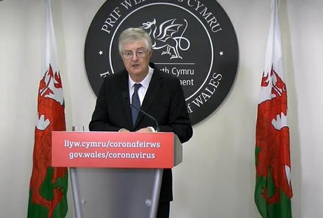 Travel restrictions will be introduced in Wales