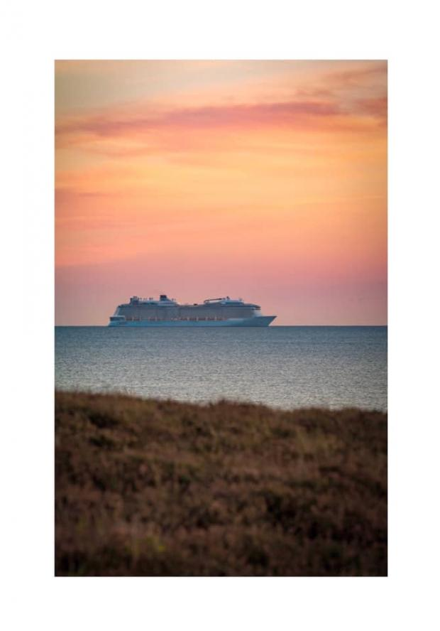 Bournemouth Echo: Allure of the Seas by Pete Chapman