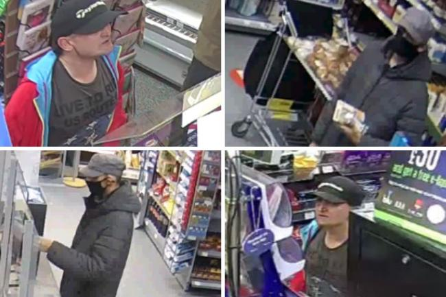 CCTV images of two people police want to speak to after a bank card was stolen and used in Bournemouth
