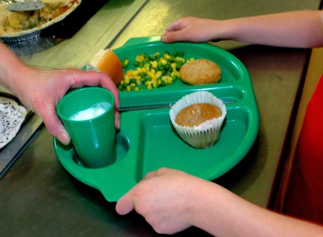 MPs voted on a motion to provide free school meals in the holidays until Easter 2021. Picture: PA