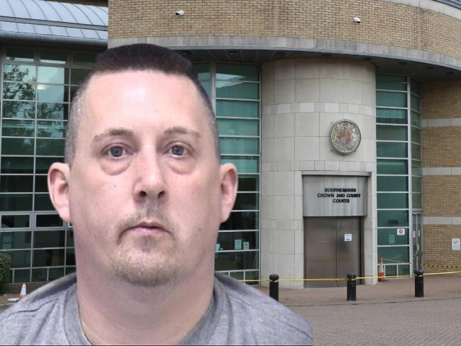 William Carter, aged 38 and of Woodlinken Close, Verwood, was sentenced at Bournemouth Crown Court