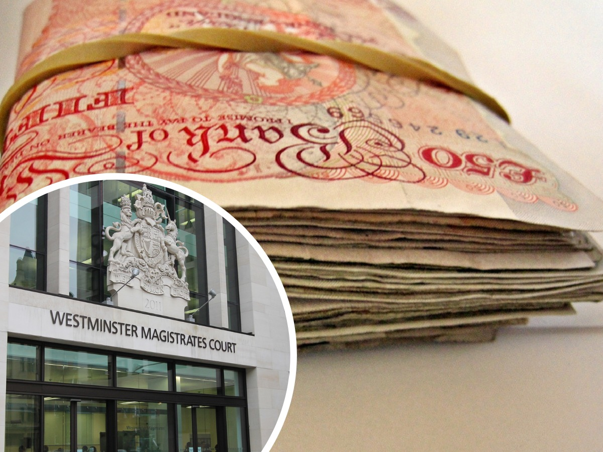 Suspected money launderer claimed she found £25k in cash under her gran's bed