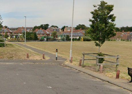 Haskells recreation ground in Poole