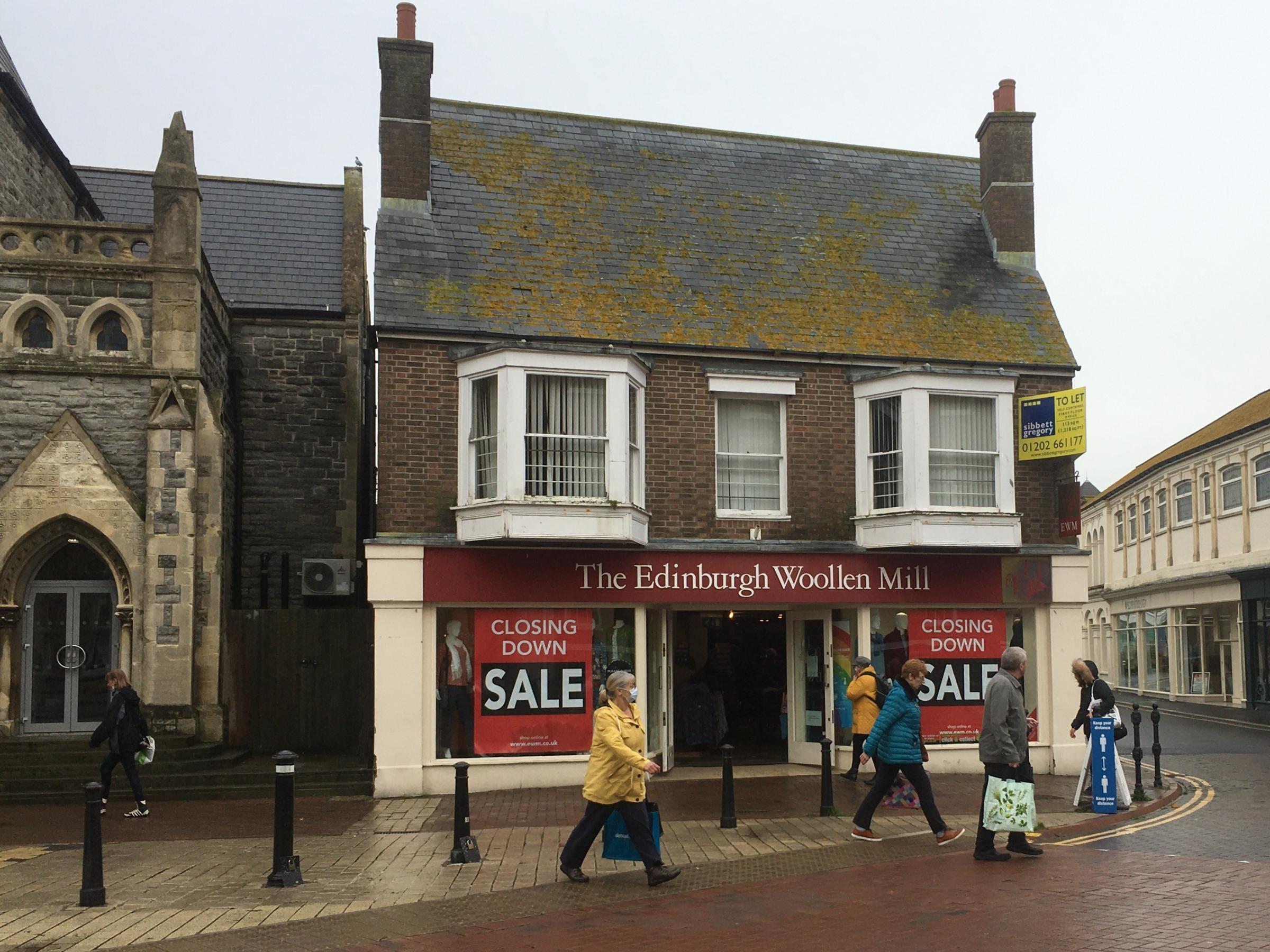 Two Edinburgh Woollen Mill Brands Go Into Administration Bournemouth Echo
