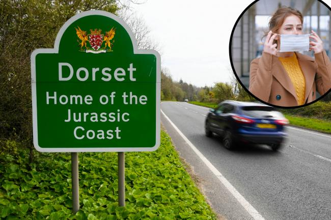 The coronavirus rate in Dorset has fallen