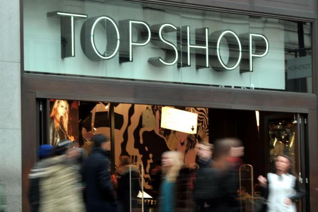 Topshop owner Arcadia to shut 31 stores with 714 job losses