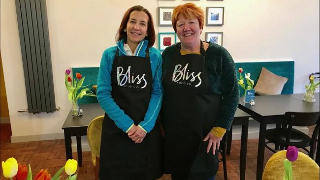 Sally Poole and Lou Condie of Bliss Food Co. in Swanage are in the running for a Successful Women in Business Award Picture: Bliss Food Co.