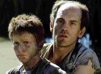 Bournemouth Echo: Bale and Malkovich